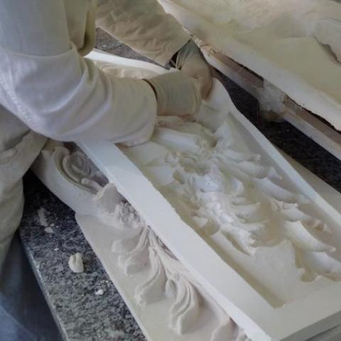 Résiplatre Polyester Extra Blanc